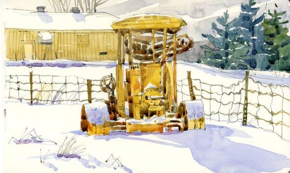 Tractor, Macdonald Farm