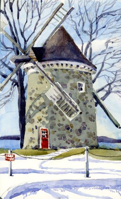 Pointe Claire windmill