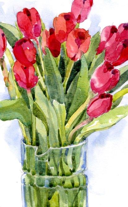 200 Tulips