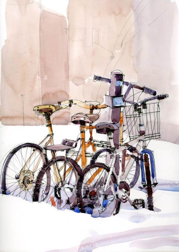 BikesinSnow