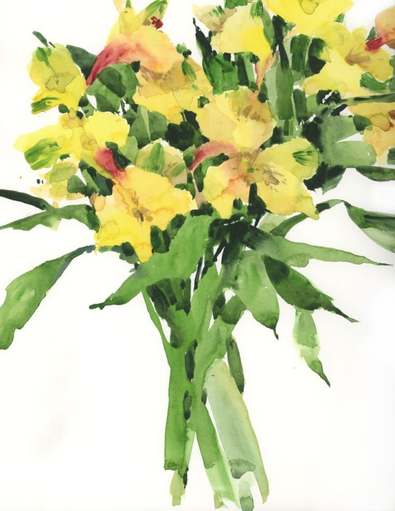 YellowAlstroemeria