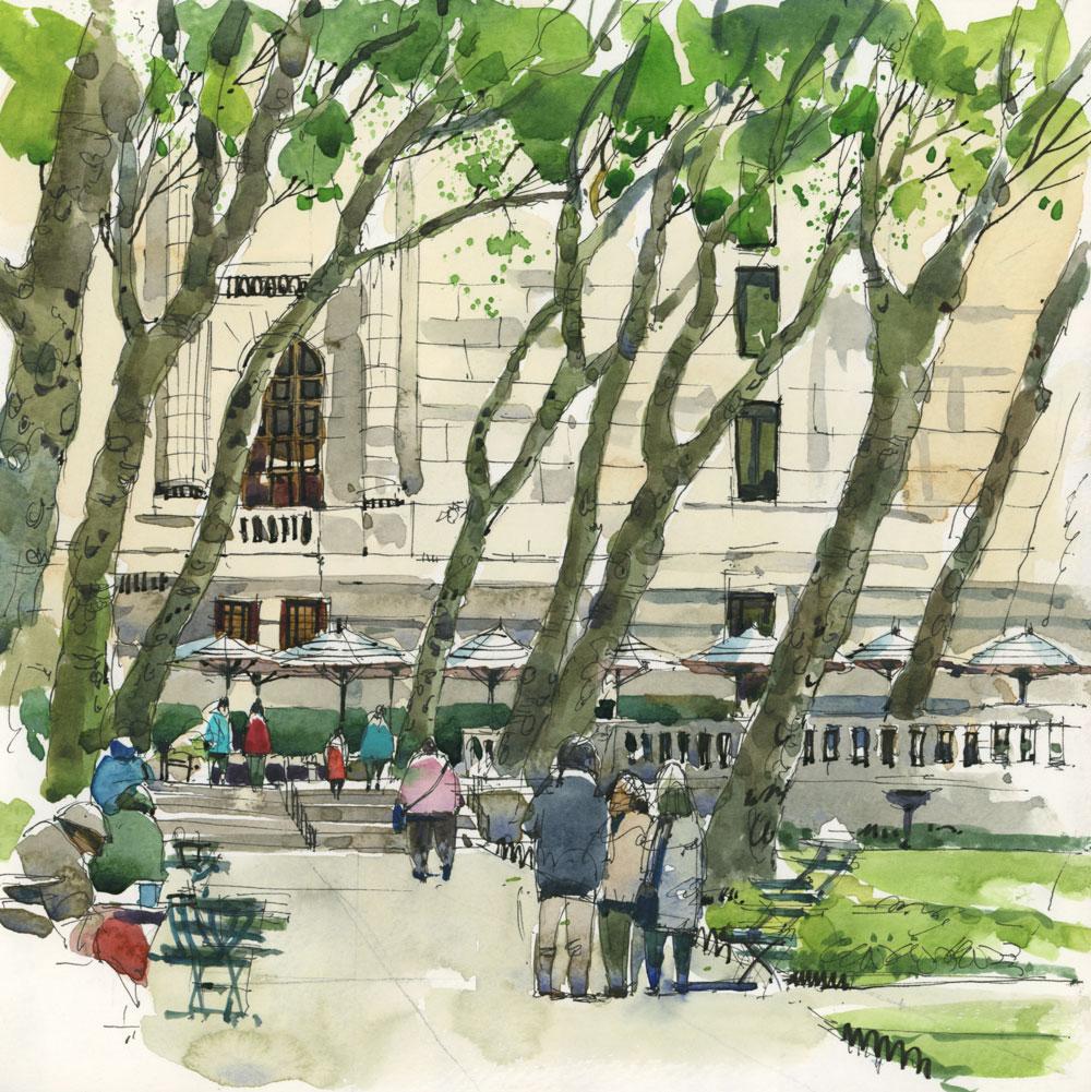 new york city workshop the sketchbook