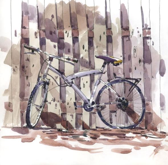 BikeAndFence
