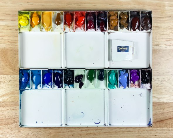 Painting palette, updated