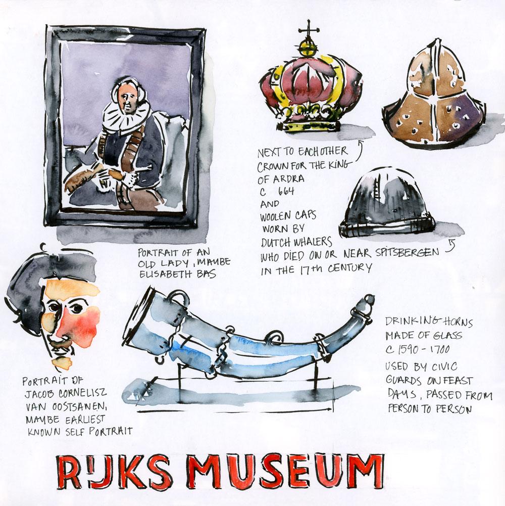 Line at the Rijksmuseum