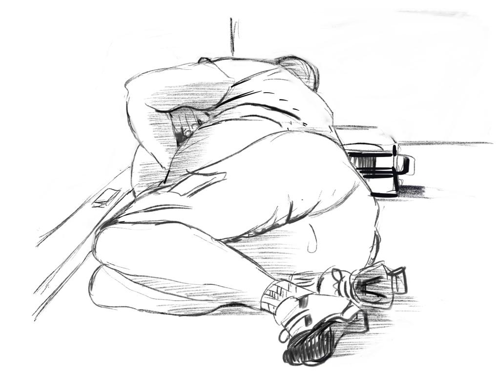 Airport Drawings The Sketchbook