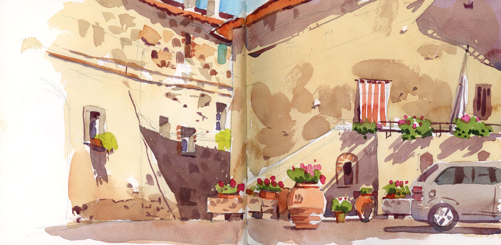 A corner of Montegemoli