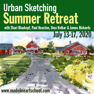 Urban Sketching Summer Retreat 2020