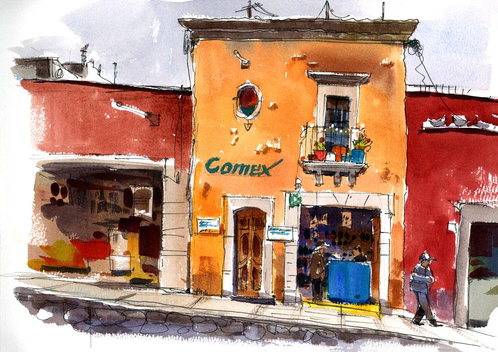 Comex facade